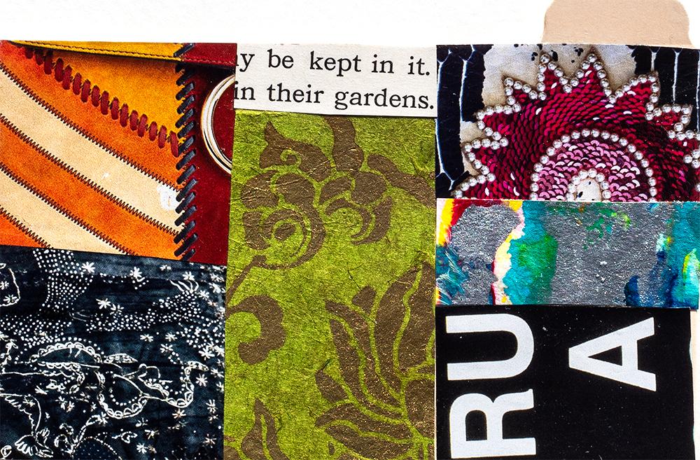 "3x5"" index card, collage by Tammy Garcia"
