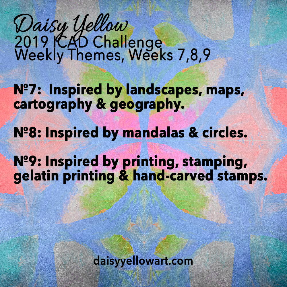 Weekly Themes ICAD 2019 Weeks 7-9