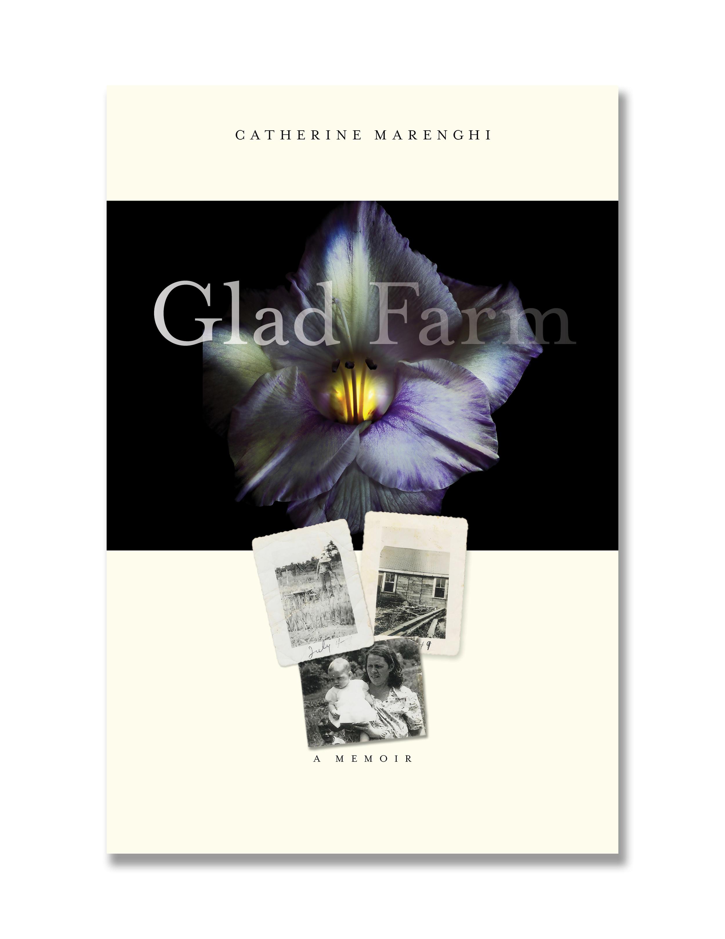 GLAD FARM: initial cover concept #1