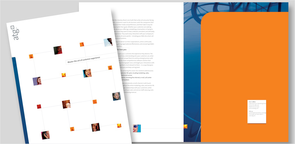 Corporate Brochure + Folder (ATG, Inc.)