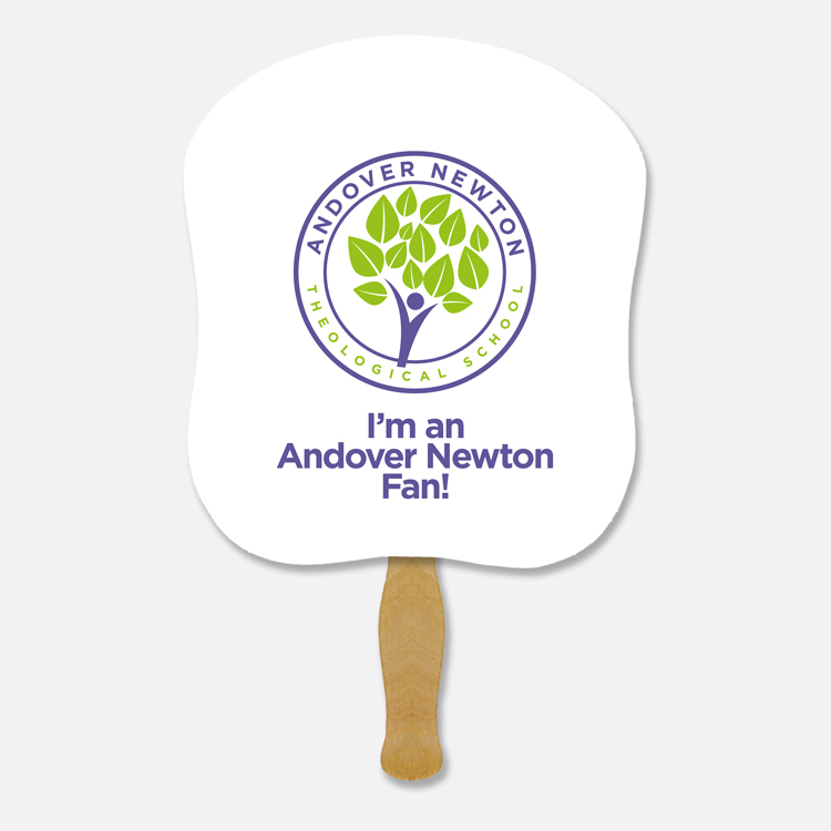 Hand Fan design for Andover Newton Theological School