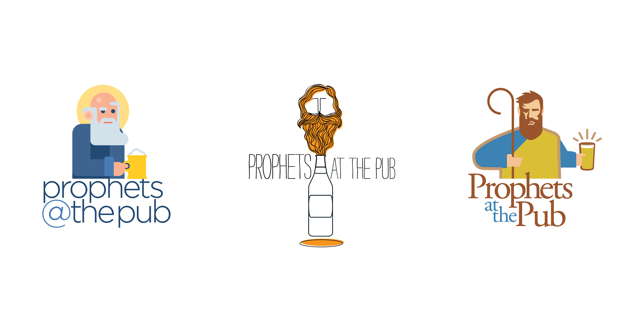 initial concepts: Prophets at the Pub