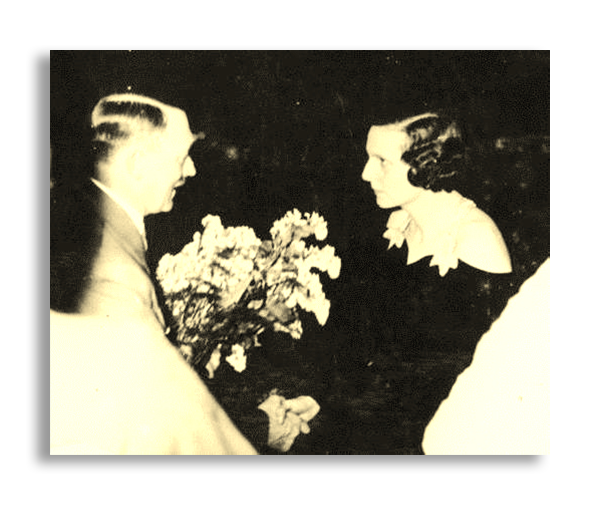 Riefenstahl and Adolf Hitler (1936)