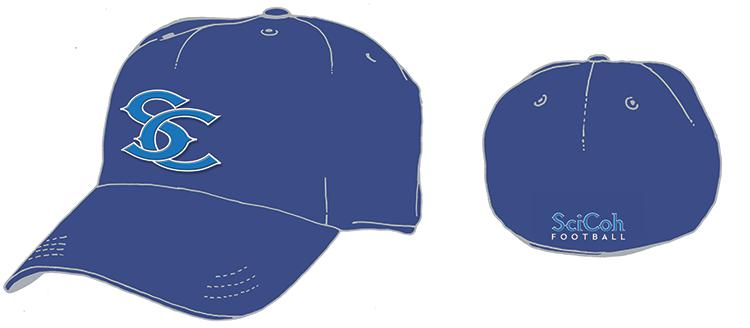 SciCoh baseball hat concept