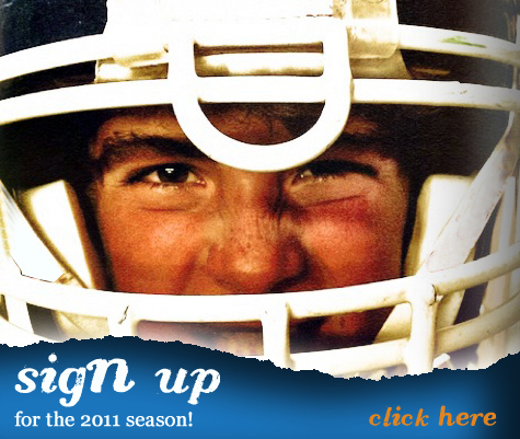 Web ad encouraging sign-up (this is actually my son, Taggart).