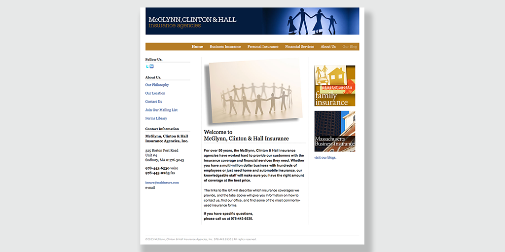 home page (2011)