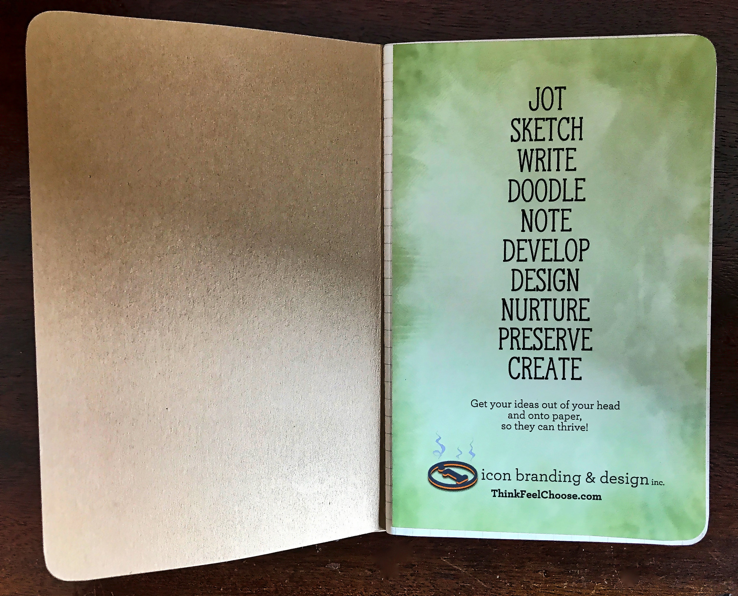 Inside front cover and page one.