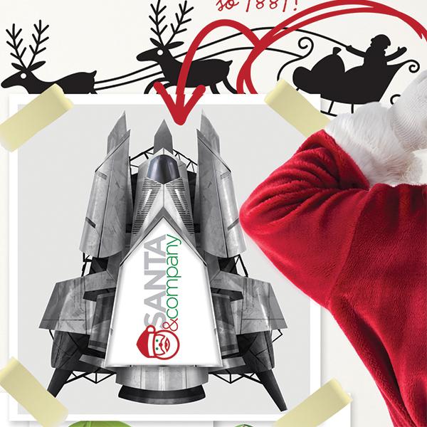 Reindeer-free Rocket Sled