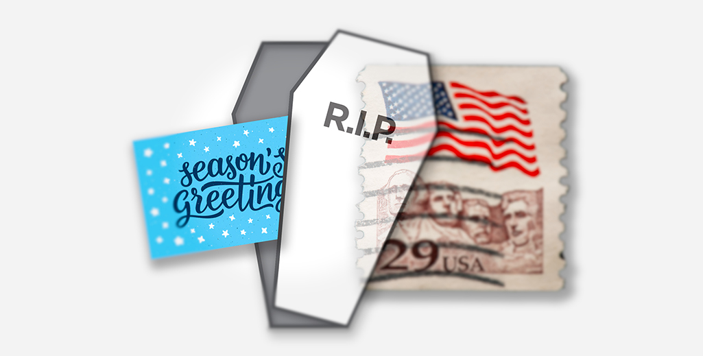 Are we beginning to see the end of the printed holiday card?