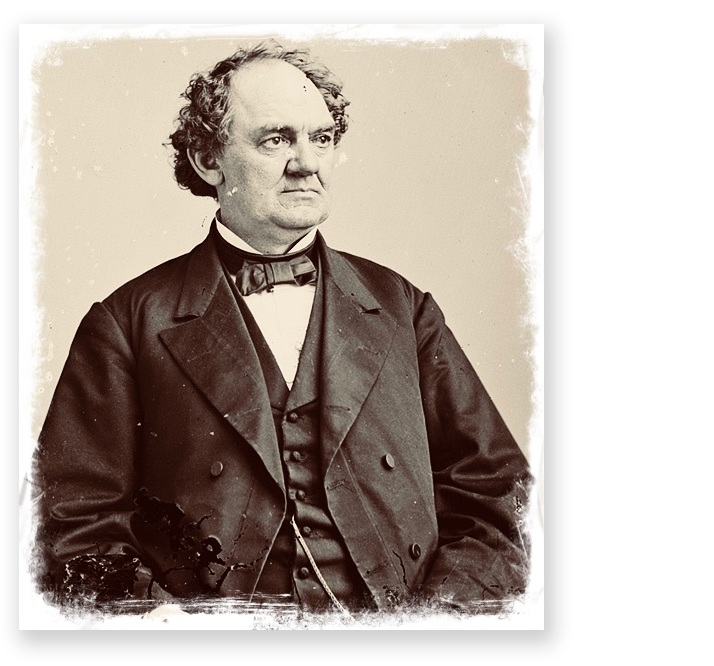 Entrepreneur and philanthropist, P.T. Barnum