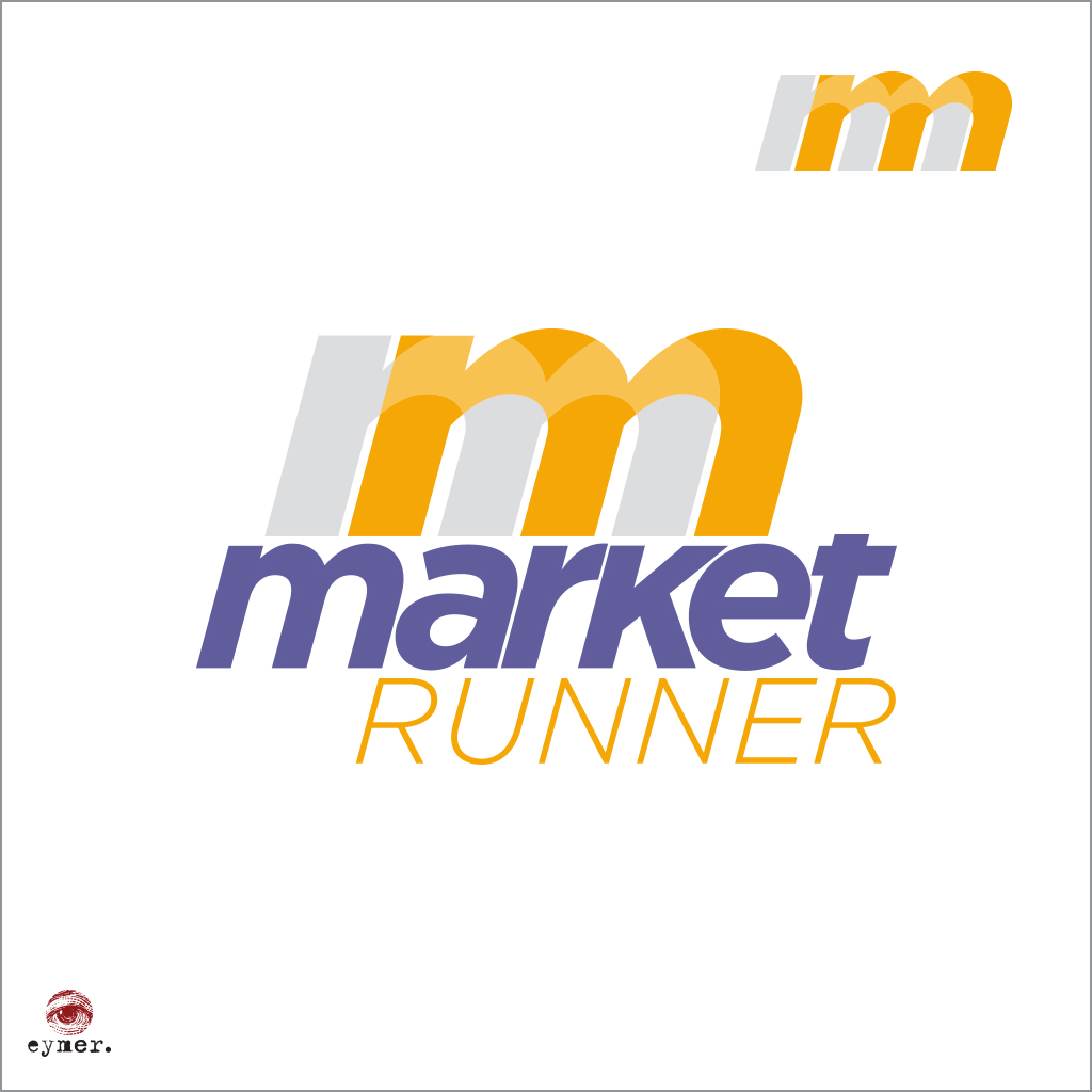 Market Runner | corporate mark + logotype