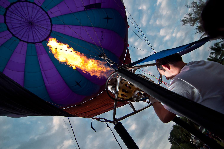 A Fiery Liftoff - Chiang Mai, Thailand