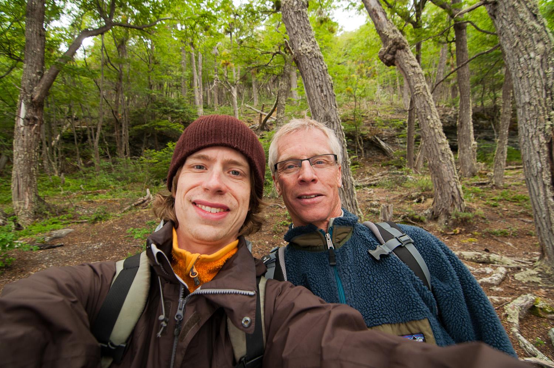 Tierra del Fuego NP with my Dad, Xmas 2010