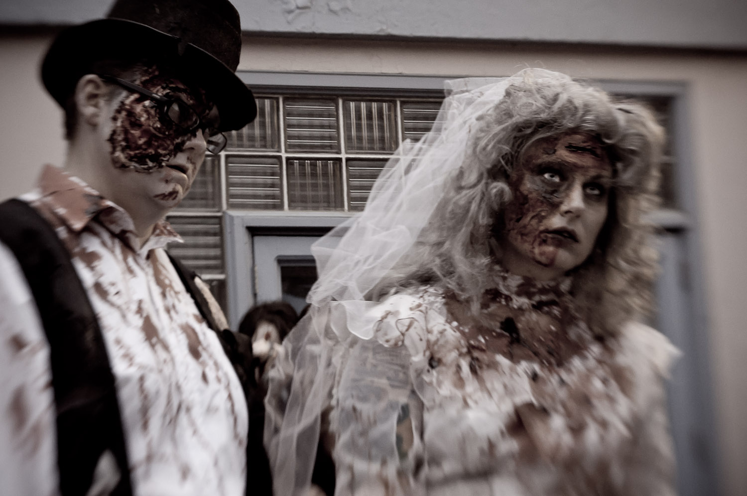 The Wedding @ Zombie Walk: Saskatoon, Canada 2011