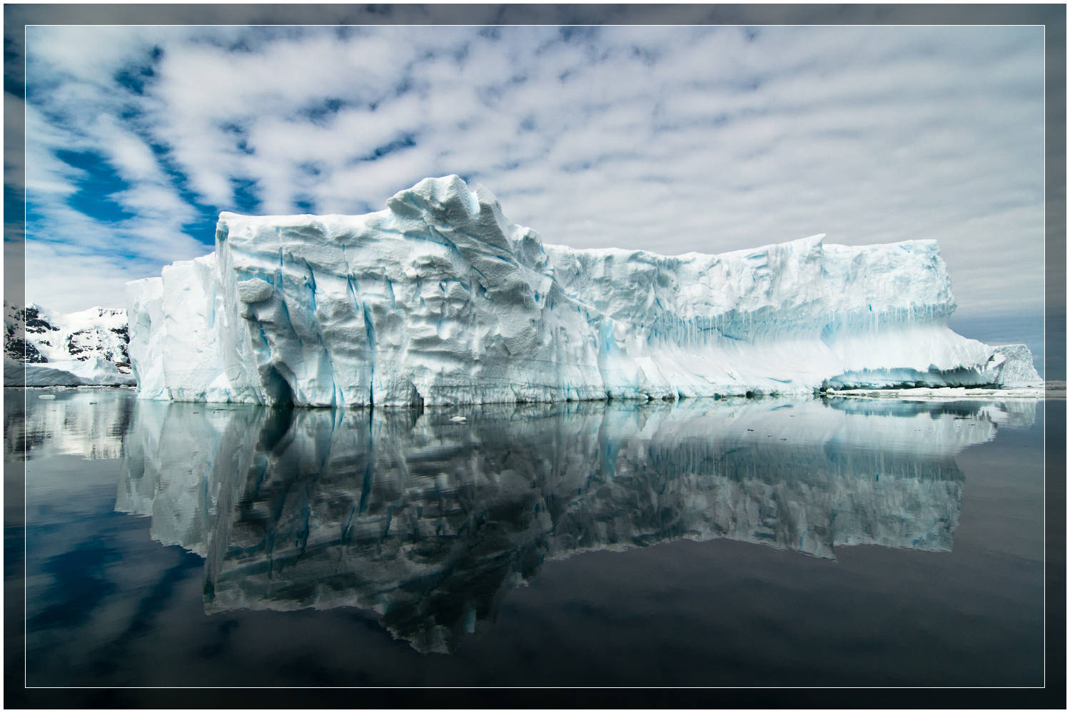 Antarctic Ice Reflections (c) Dustin Main 2010