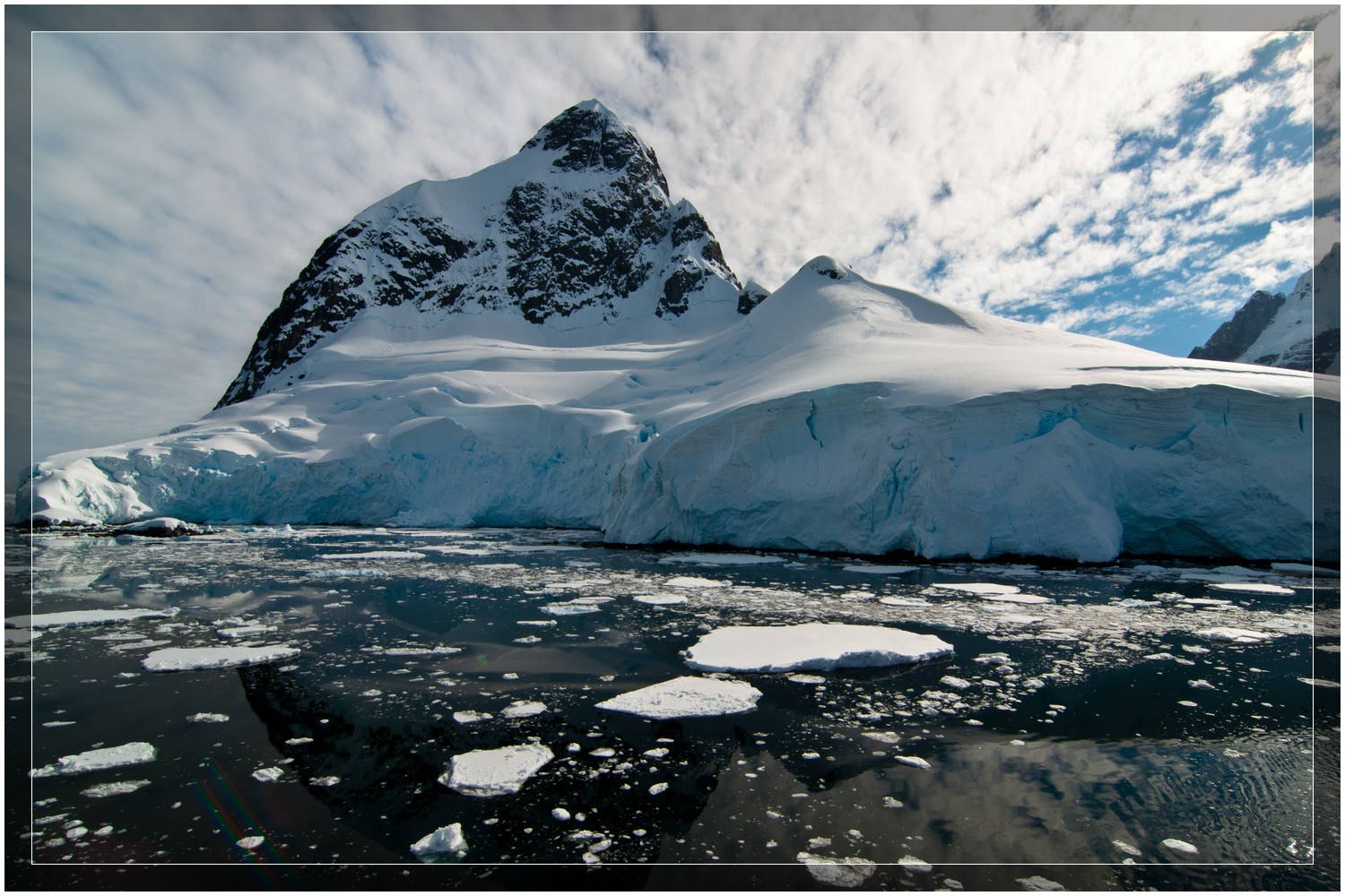 Black Antarctic waters (c) Dustin Main 2010