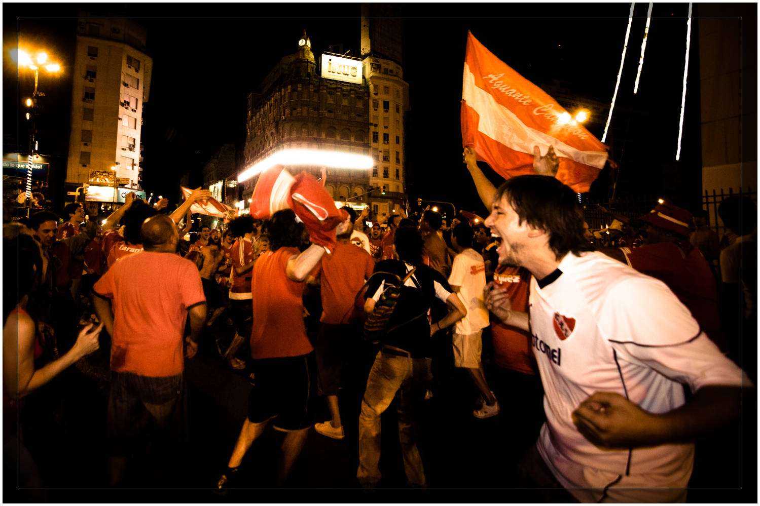 Independiente Victory Celebration, Buenos Aires - Argentina (c) Dustin Main