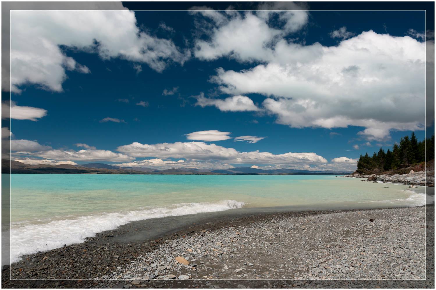 Big Skies @ Lake Pukaki, New Zealand