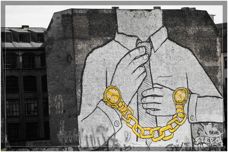 """""""Watching Berlin"""" Street art in Berlin, Germany"""