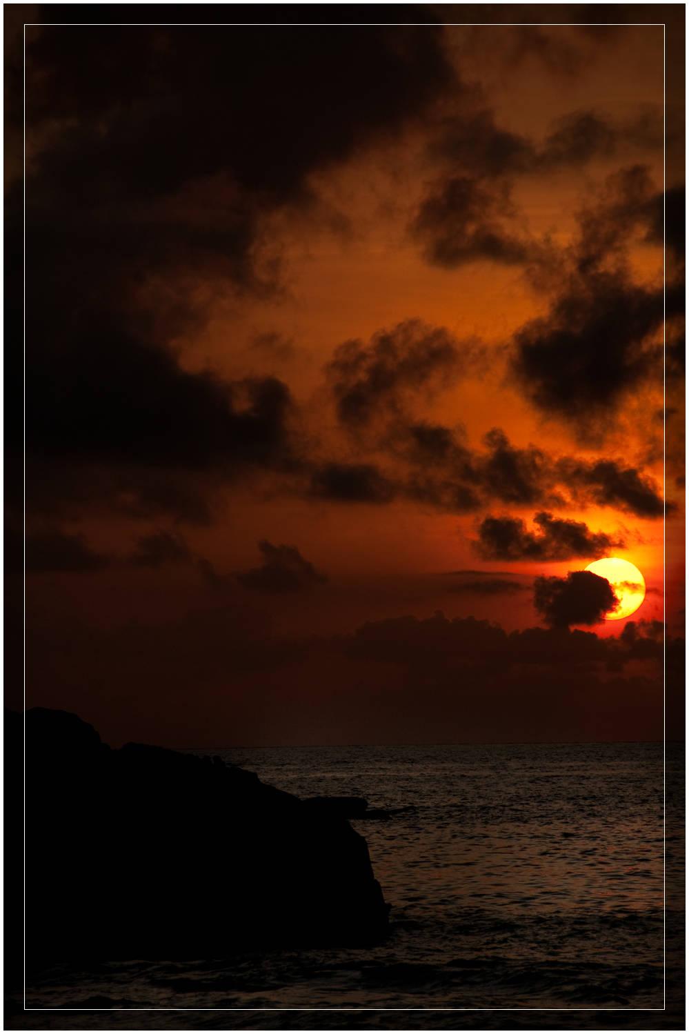 Sunrise on Palau Perhentian Kecil, Malaysia