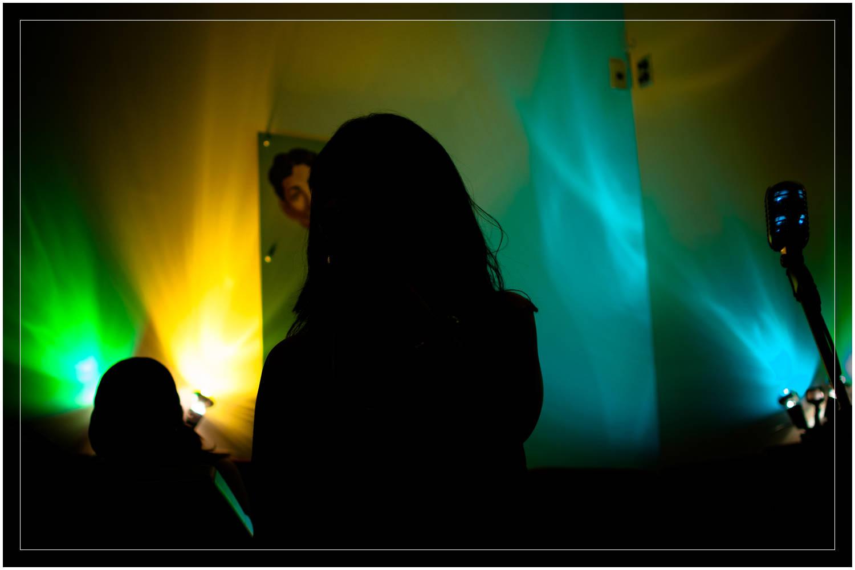 Lead Singer, Cat Tunks of Black Sand Diva - Live at the Nelson Jazz Festival, New Zealand