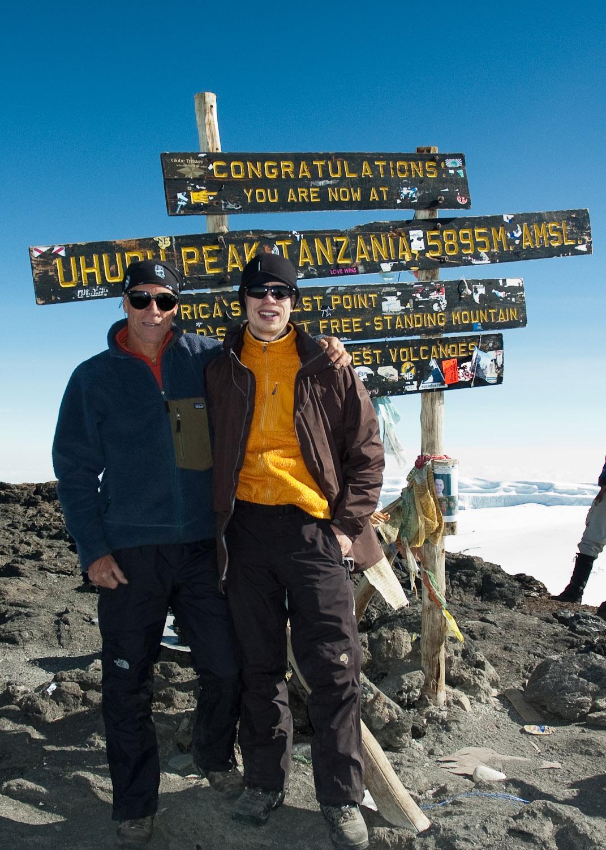 Mt Kilimanjaro (5,895m) - June 2008
