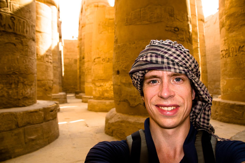 Karnak Ruins, Egypt - August 2010