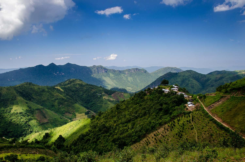 Shan hills near Kalaw, Burma (Myanmar)