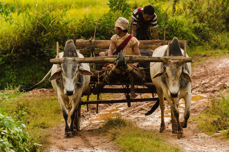 On the road again. Shan State, Burma / Myanmar
