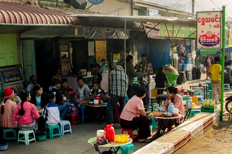 Shwe Ya Minn tea shop. Kalaw, Shan State, Myanmar (Burma)  (c) Dustin Main 2013