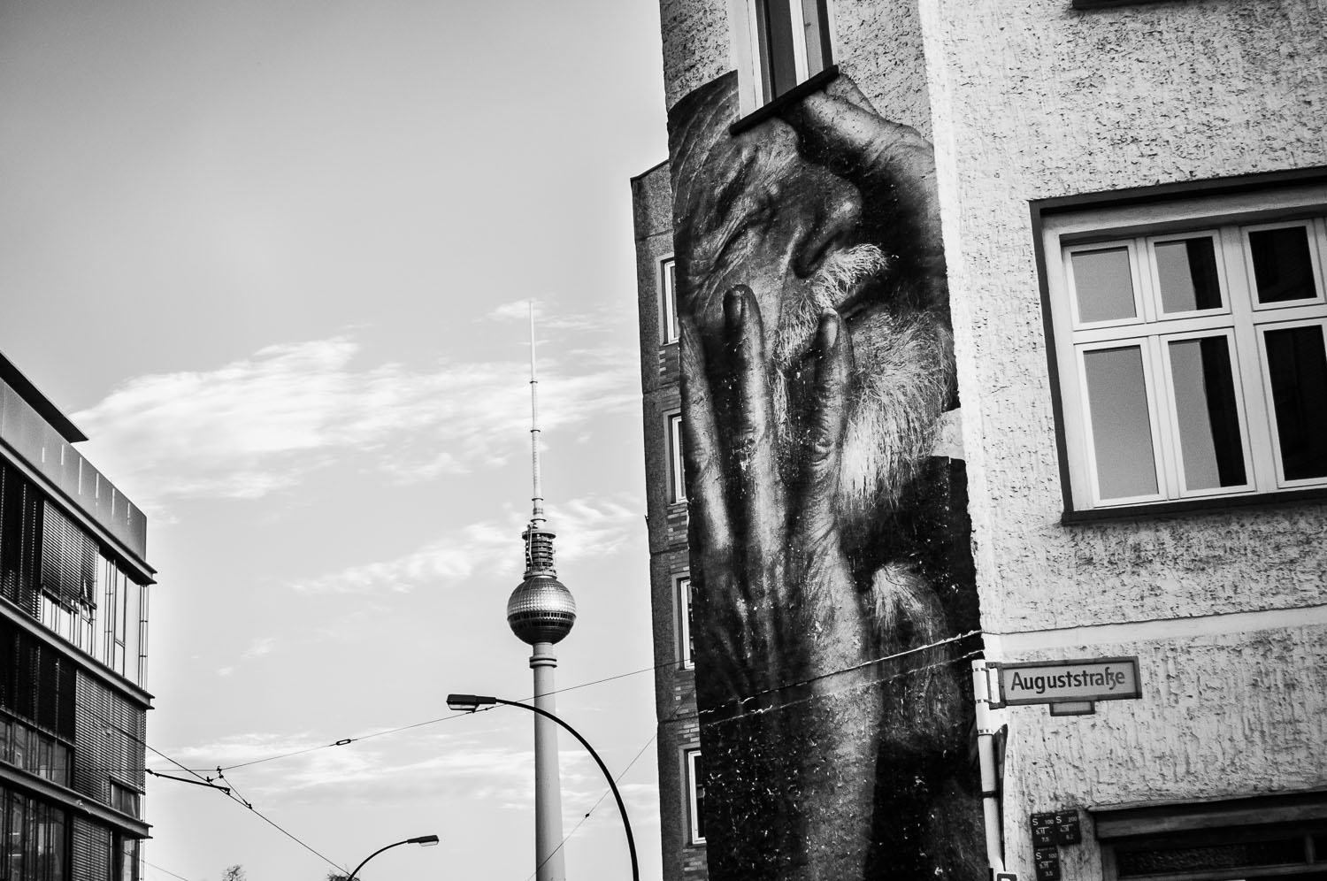 """Alive""  Wrinkles in the City - Berlin    © Dustin Main 2013"