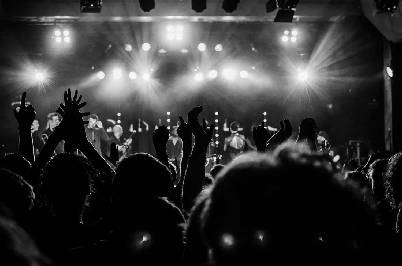 """Horns & Lights""   Bonobo live in Berlin, Germany  © Dustin Main 2013"