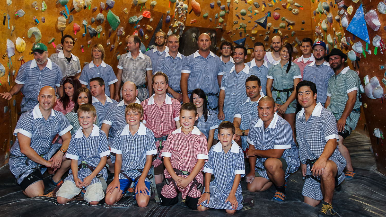Climbers Without Pants team.  © J Afshin 2013