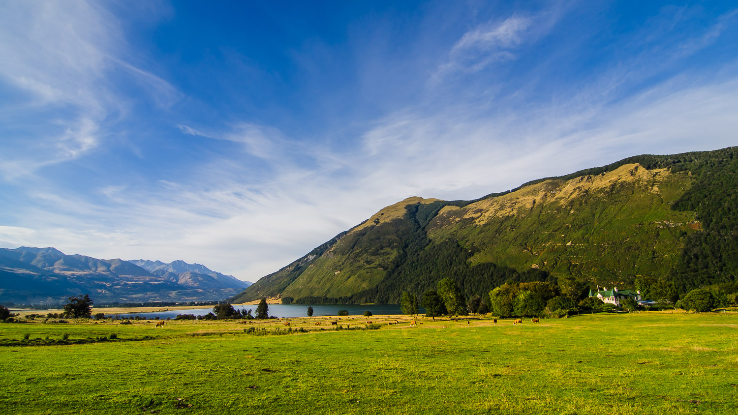 Paradise, New Zealand (seriously, that's the name)  © Dustin Main 2013