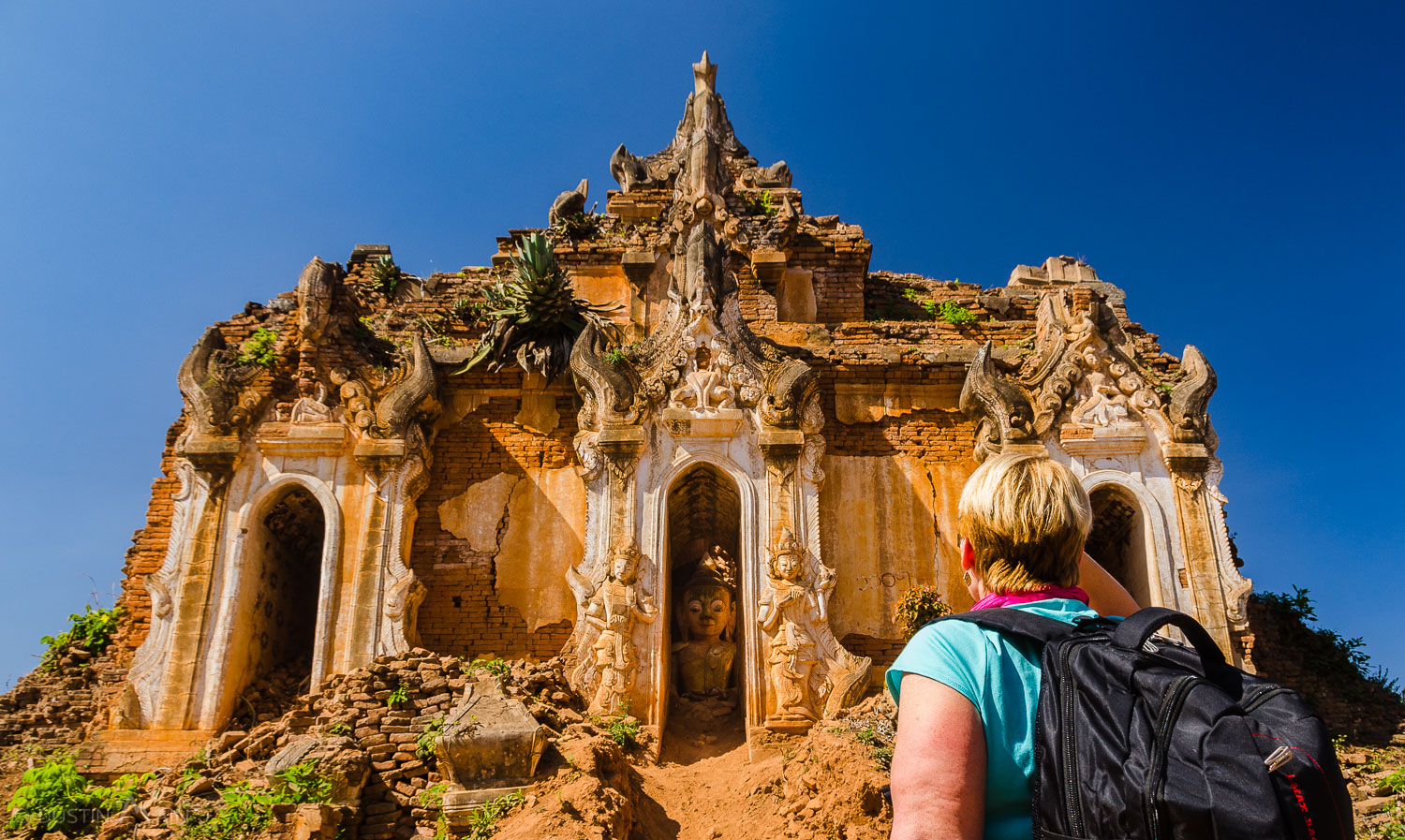 Ruins at Indein, Myanmar.  Check and Check.  Indiana Jones hat not included.
