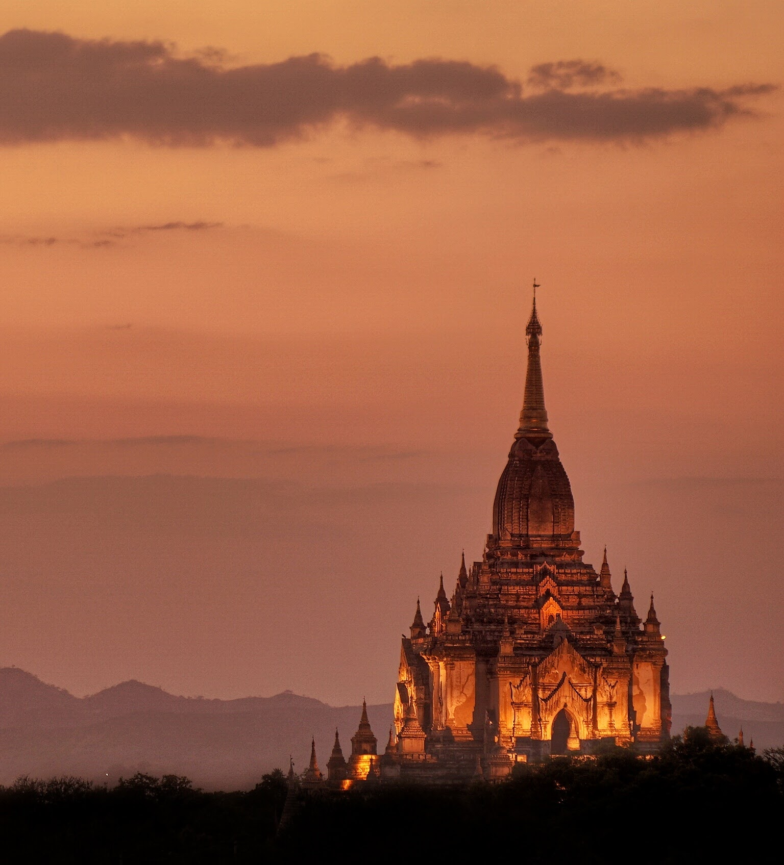 Bagan by Sunset.  Hard to believe...