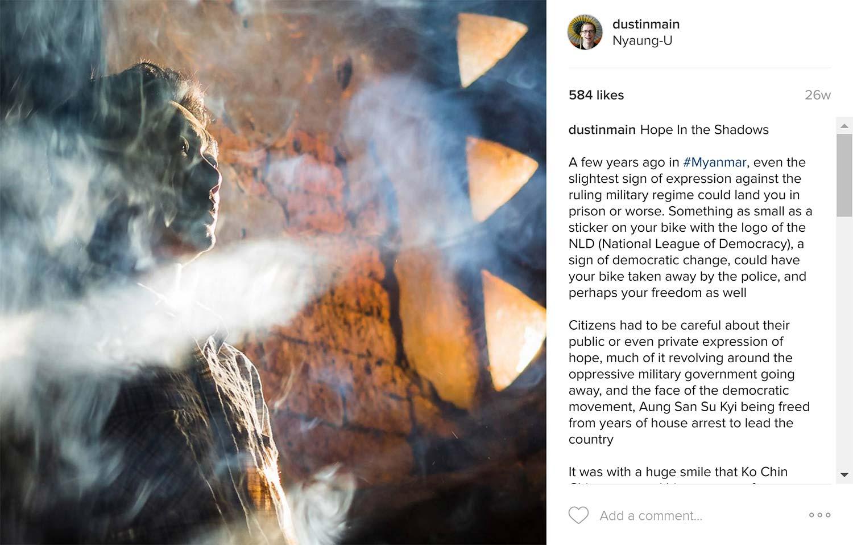 bagan stories on instagram