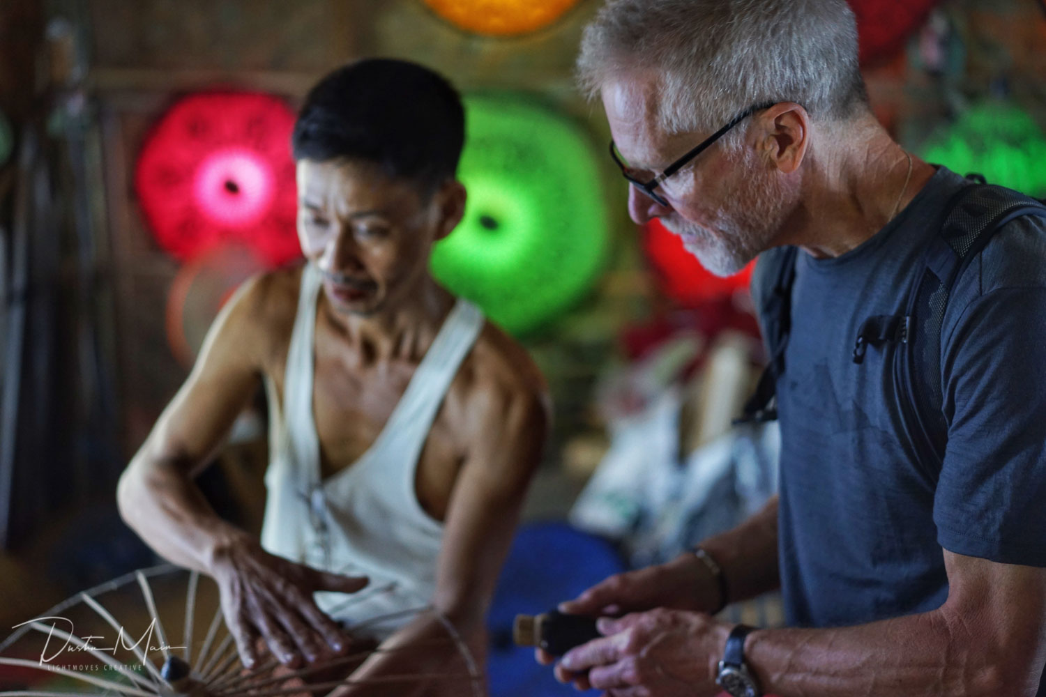 Learn about the traditions from the artisans themselves