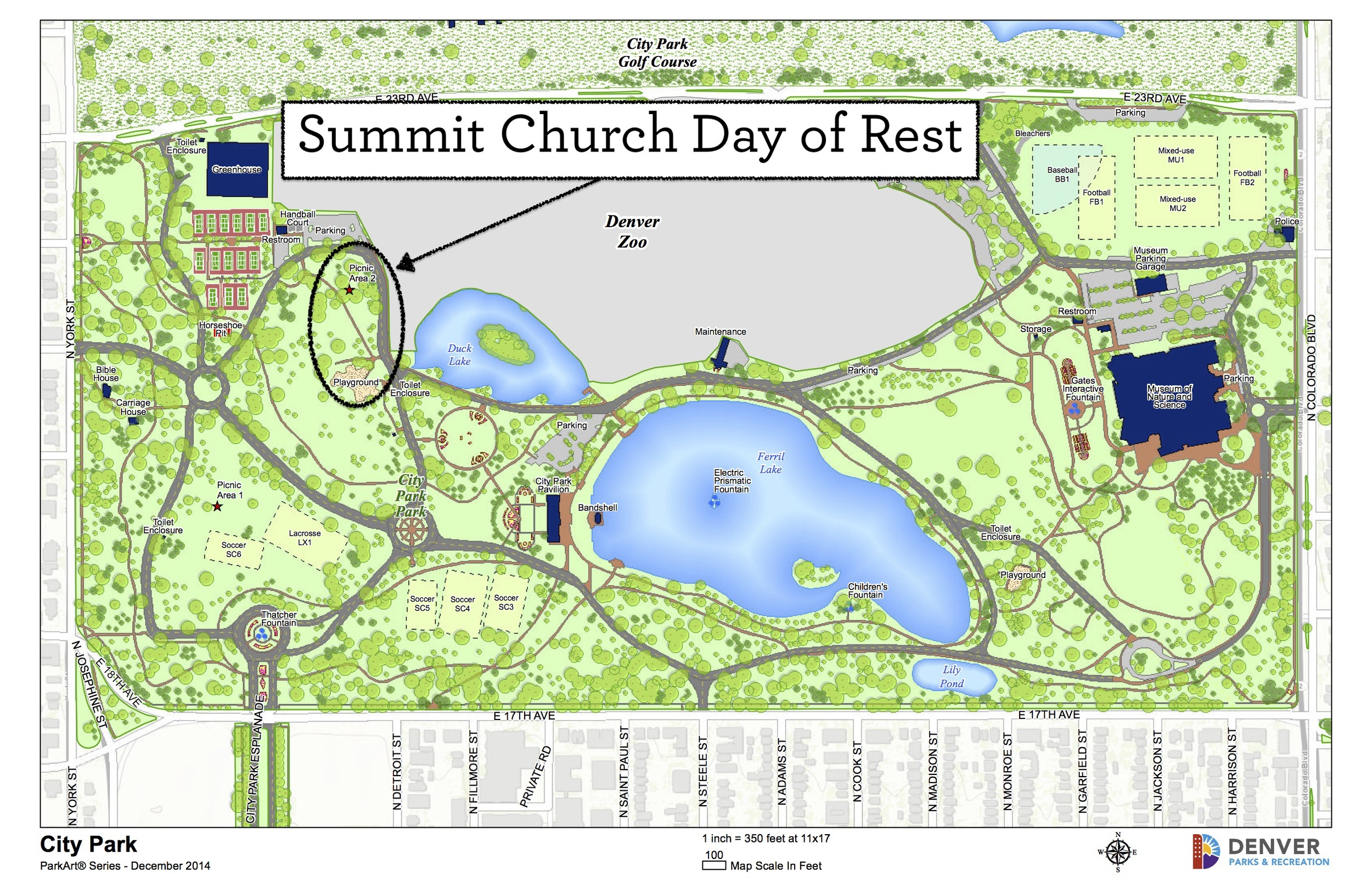 City Park Denver Map Day of Rest — The Summit Church