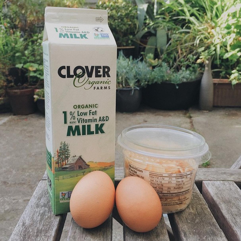 Image : Milk, Cheese, Eggs