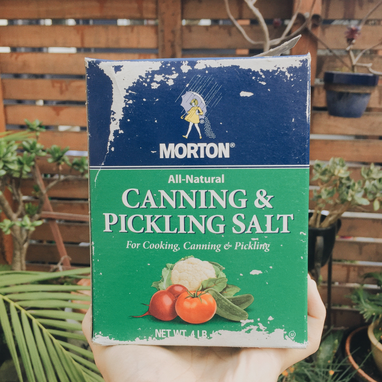 Image : Morton's Canning & Pickling Salt