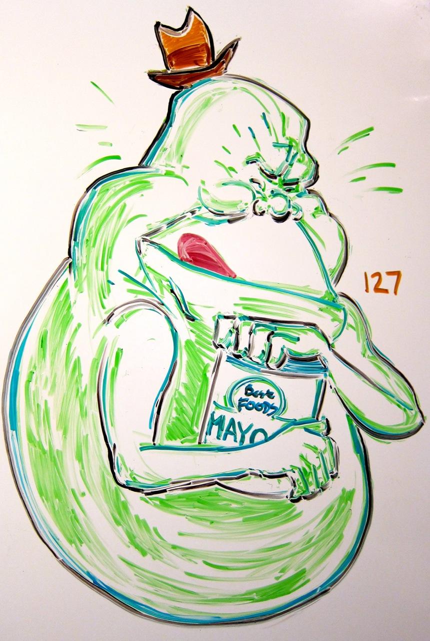 Mayonnaise.