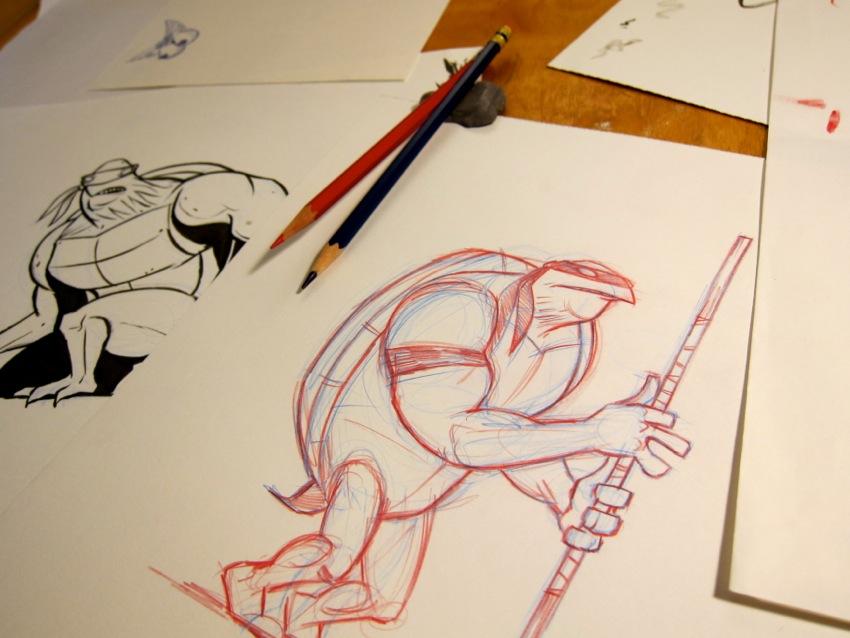 Ninja Turtles Sketches