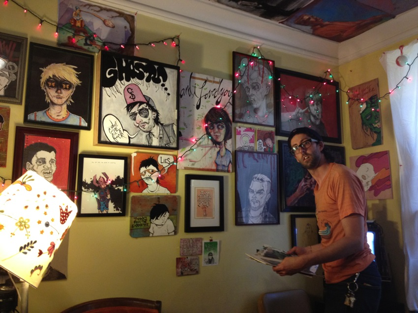 Matt Delight's Open Studio