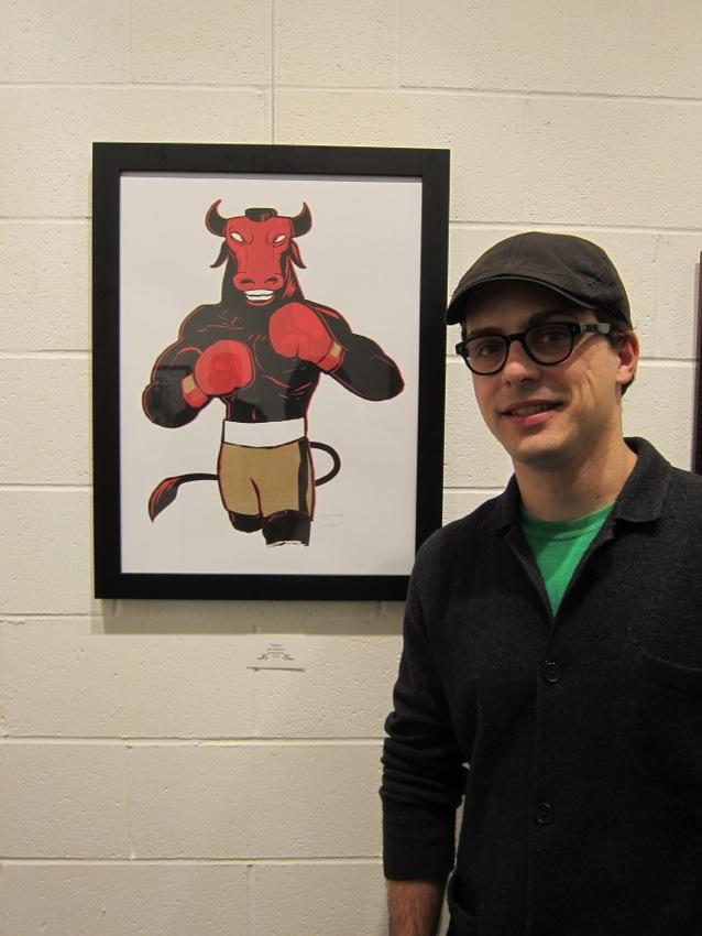 """""""Villians"""" show at Mission Comics & Art"""