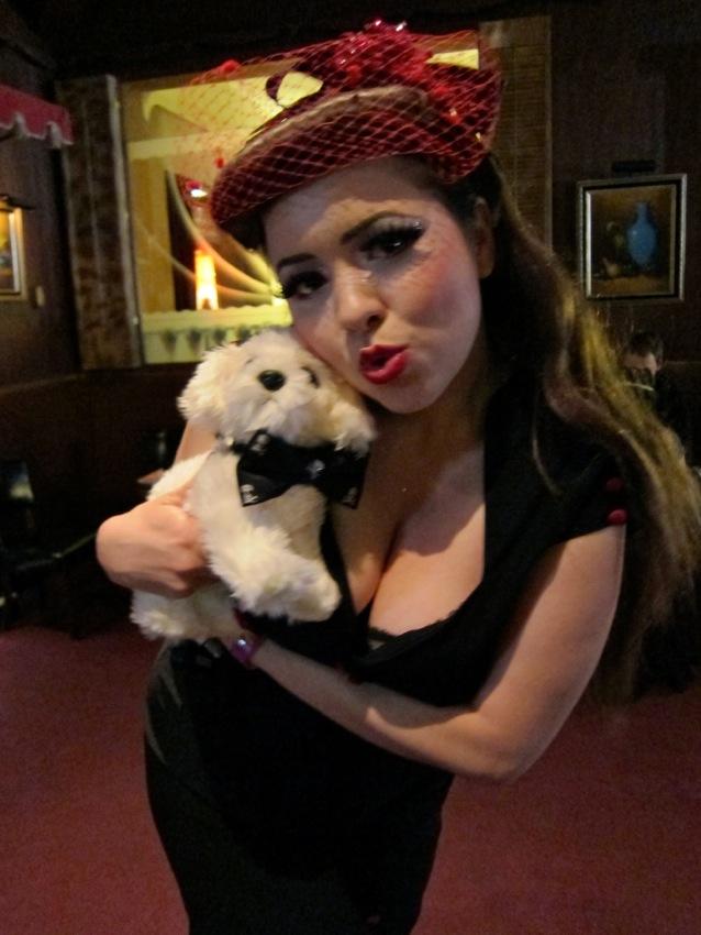 Recovery Dog goes to Tease-O-Rama
