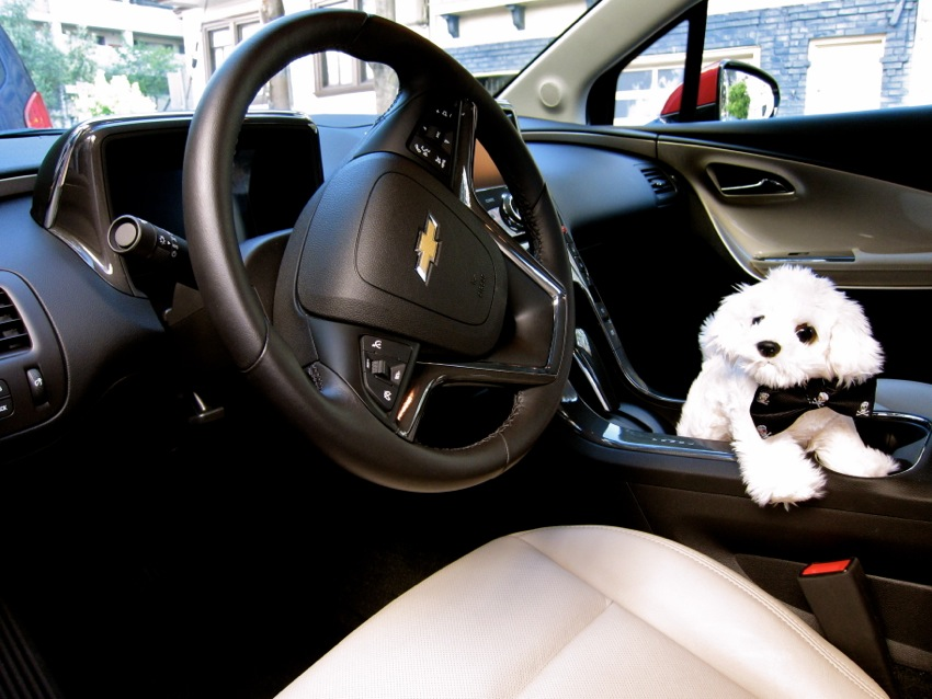 Complimentary Chevy Volt rental from Klout