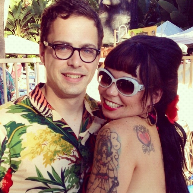 at Tiki Oasis with Bunny Pistol