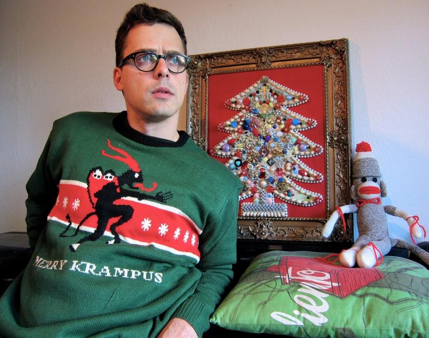 Scored a Krampus sweater