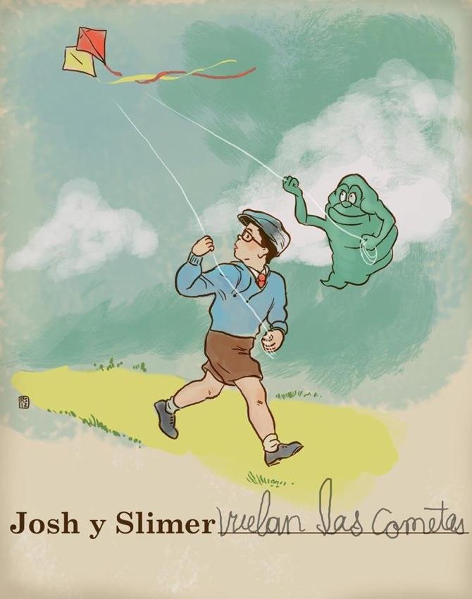 Guest Slimer by Rigel Stuhmiller